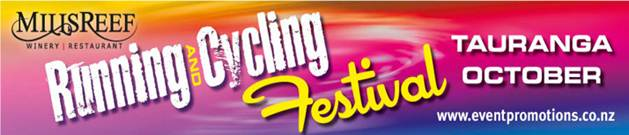Mills Reef Running & Cycling Festival Logo